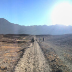 Camino a la laguna Mamacocha