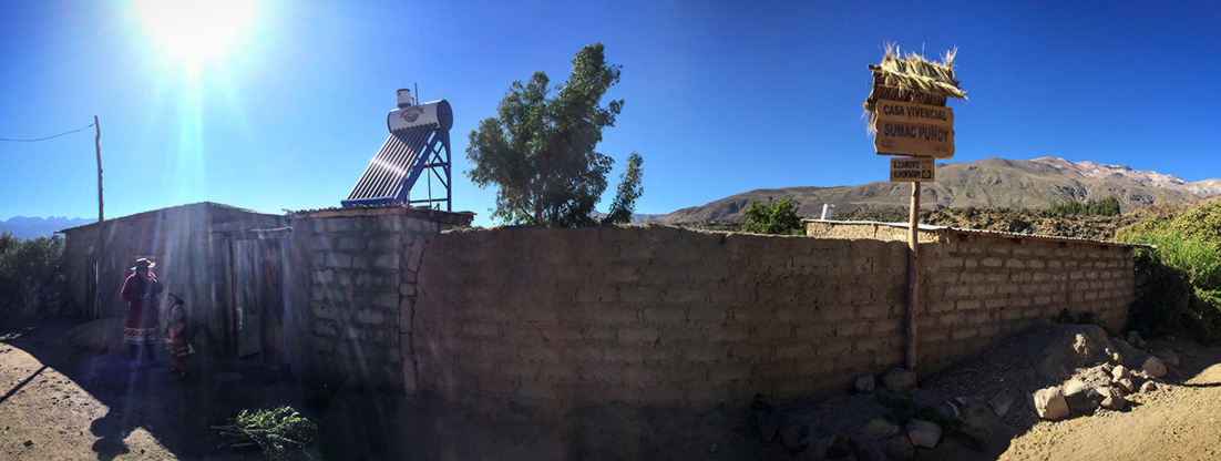 Casa vivencial Andagua