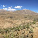 Vista desde uno de los crateres de Los Mellizos