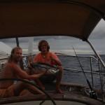 Navegando el Pacifico por primera vez. A isla de Pascua