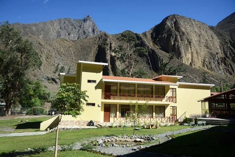 Fundo Hotel Ayarpongo,Churín. Foto Walter Silvera