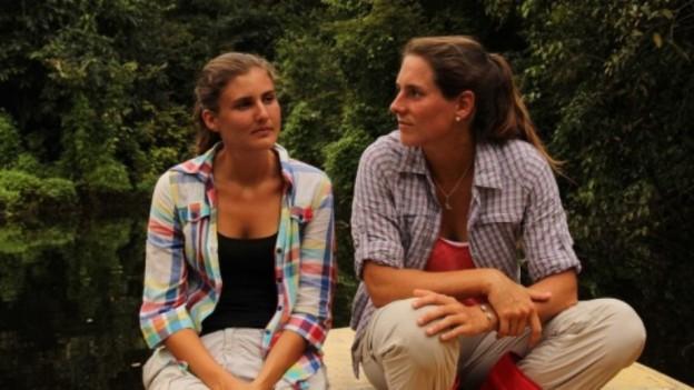 Tali y Caro en la Reserva Nacional Pacaya Samiria