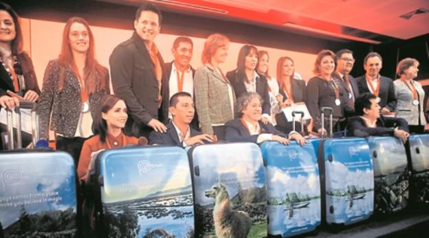 CONFERENCIA DE PRENSA SOBR ELOS NUEVOS EMBAJADORES DE LA MARCA PERU