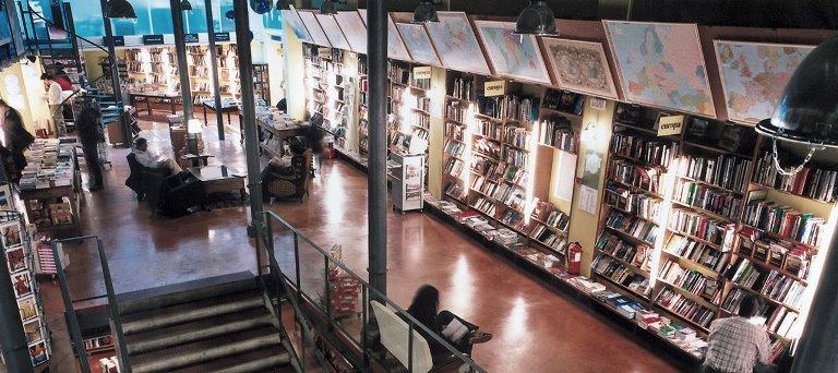 Local de la librería Altaïr en Barcelona. Altaïr nació en la Ciudad Condal en 1979.