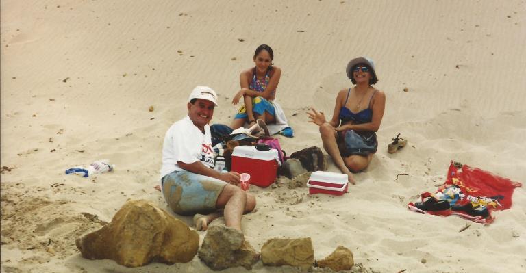 3. Playa Raspon Paracas papas 2000
