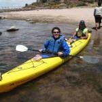 Llachón en kayak