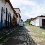 Calle tradicional de Alcântara.