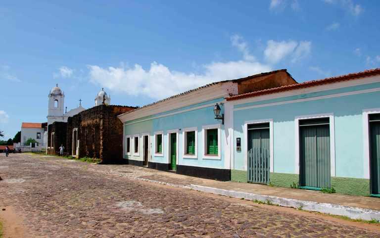 La Villa de Santo António de Alcântara se convirtió en un importante centro agrícola y comercial para franceses, holandeses y portugueses.