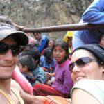 En Lares, Cusco, con Juanito...