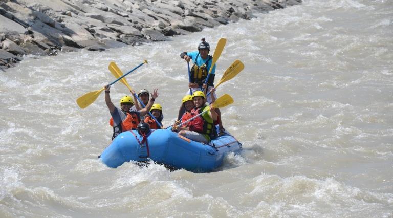 Canotaje en el río Cañete, el clásico de los clásicos.Foto: Yvette Sierra