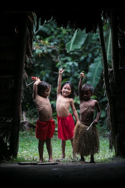 Niños peruanos
