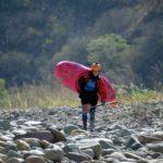 Saliendo del rio Pachachaca Yaca, Abancay