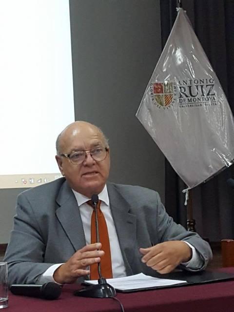 Freddy Gamarra, presidente de la Cámara Nacional de Turismo - Canatur