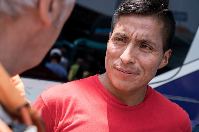 De Atalla, Huancavelica, una de las localidades más pobres del Perú,: Remigio Huamán es nuestra carta principal. Remigio ganó hace unas semanas la MDS Fuerteventura, España.