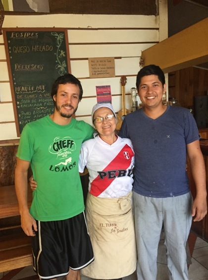 Sergio Barrios, María y Lucho González, cómo gozan los Gosalvez...