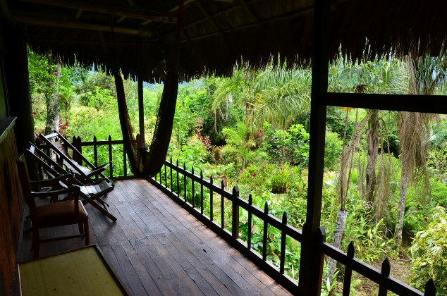 Estación Biológica Villa Carmen. Foto Daniel Huamán / Conservación Amazónica ACCA