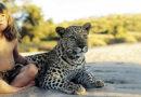 Tippi Degré, la niña blanca que vivió entre animales salvajes en la sabana africana